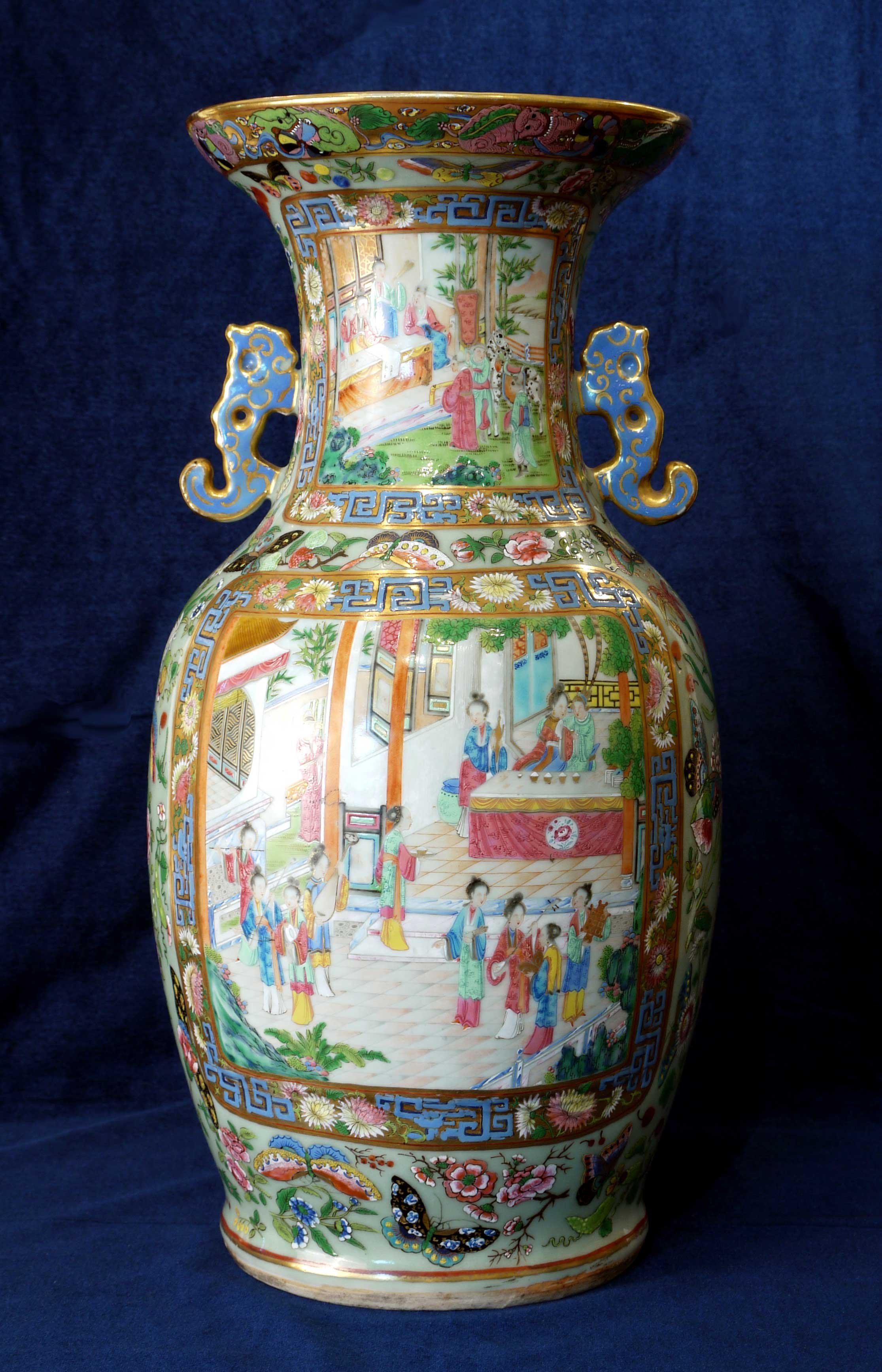 Famille rose mandarin palace vase at pocock fine art antiques click for a higher resolution image in a new window reviewsmspy