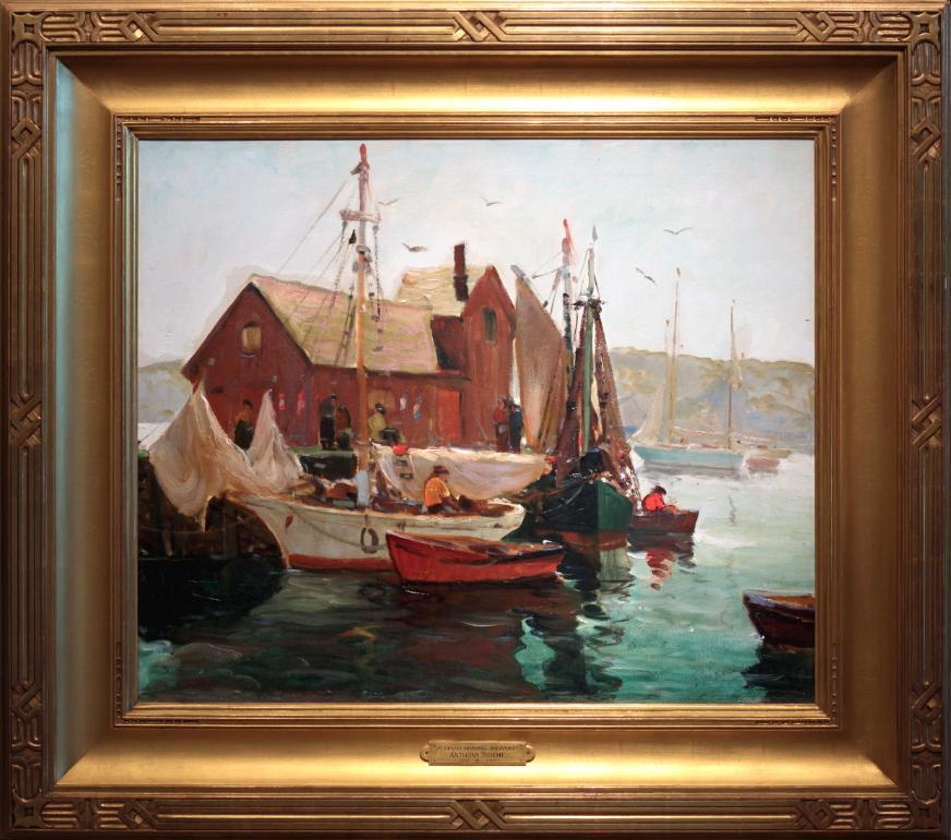 Anthony Thieme Oil Painting Rockport